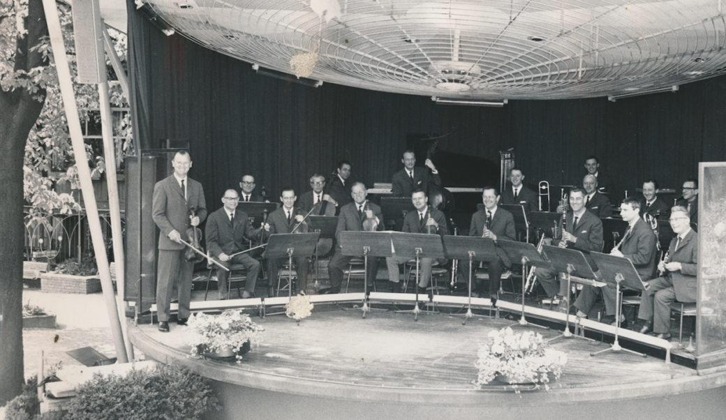 Promenadeorkestret Tivoli-historie, udateret foto