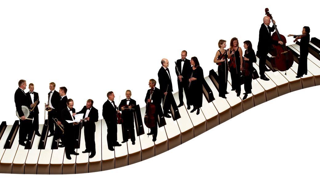 Promenadeorkestret - levende Tivolitradition kan bookes overalt i Danmark