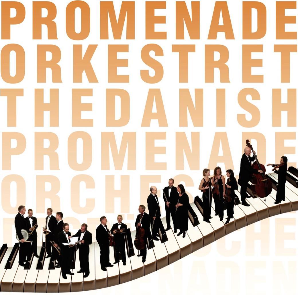 Promenadeorkestret tekst og logo